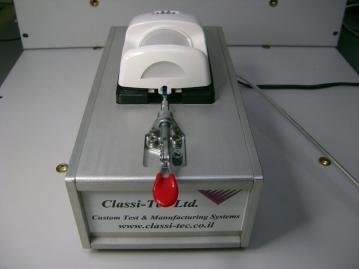 מתקן חצי-אוטומטי לבדיקת מעגלים